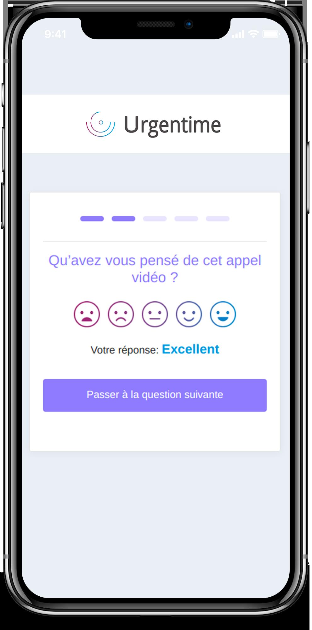 iPhone X sondage Urgentime