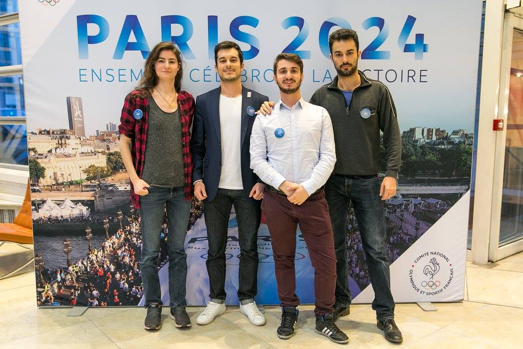 Photo d'équipe Urgentime - Ouest France - Paris 2024