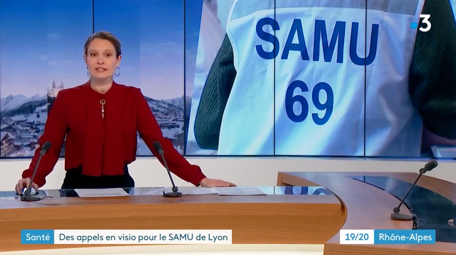 19/20 - France 3 - Samu 69